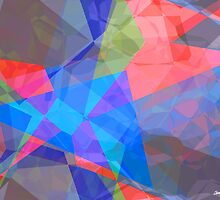 Abstract Polygons 42 by Christopher Johnson