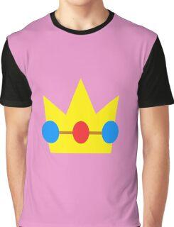 Super Mario Peach Icon Graphic T-Shirt