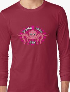 "Fruity Oaty Bar! ""OCTOPUS"" Shirt (Firefly/Serenity) Long Sleeve T-Shirt"