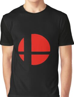 Super Smash Bros Icon Graphic T-Shirt