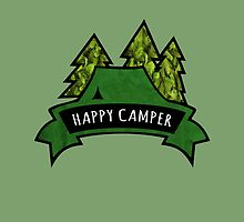 Camping makes me happy. by TASHARTS