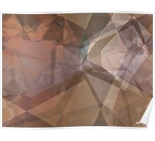 Abstract Polygons 66 Poster