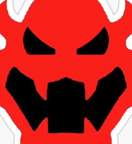 Super Mario Bowser Icon Sticker
