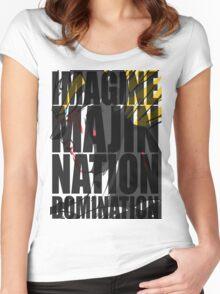 Vegeta - Majin Nation v3 Women's Fitted Scoop T-Shirt