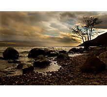 The Shore of Loch Ness Photographic Print