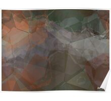 Abstract Polygons 77 Poster
