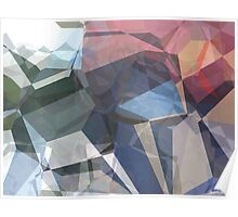 Abstract Polygons 88 Poster