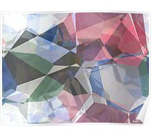 Abstract Polygons 90 Poster