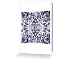 Blue Rubber Greeting Card