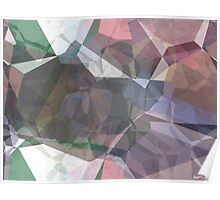 Abstract Polygons 91 Poster