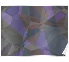 Abstract Polygons 93 Poster