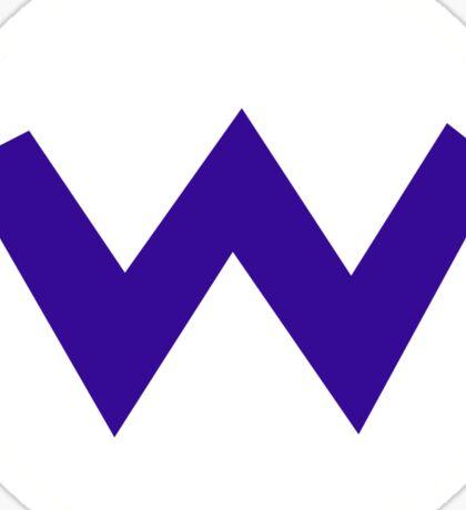 Super Mario Wario Icon Sticker