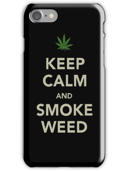 Keep Calm Iphone Case by STricker