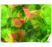 Abstract Polygons 102 Poster