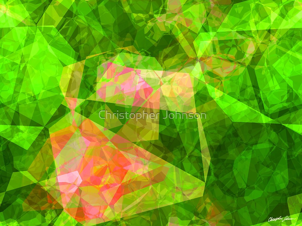 Abstract Polygons 103 by Christopher Johnson