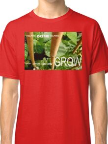 OXFAM GROW comp' with example logo, link to final piece & no logo submitted to comp in notes ! please see both*as plain submit Classic T-Shirt