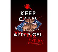 Keep Calm and---- NO ITEMS EVER!! BURAAAA!! Photographic Print