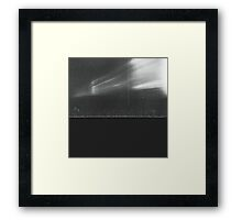 Abstraction film advance issue Hasseblad 500C and 80mm Framed Print