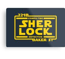 SHER LOCK Metal Print