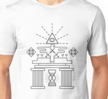 Columns Of Illumination Unisex T-Shirt