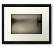 Kilby in Sepia Framed Print