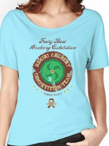 Fairy Bow Archery Exhibition Women's Relaxed Fit T-Shirt