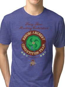 Fairy Bow Archery Exhibition Tri-blend T-Shirt