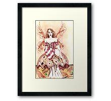 Mushroom Fairy Framed Print