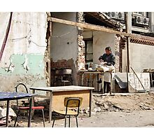 Beijing 2006 - The (semi-)restaurant Photographic Print