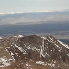 Mountain and Horizon View - Pikes Peak by vikpuma