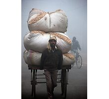 Foggy Load Photographic Print