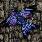Purple red dracopheonix by Aurora