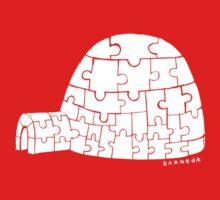 Puzzle Igloo One Piece - Short Sleeve