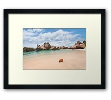 Anse Marron Framed Print