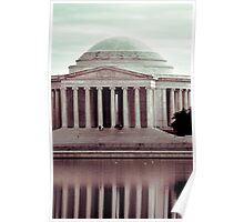 Jefferson Reflections, Washington, D.C. Poster