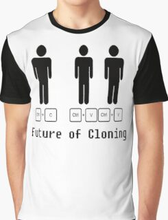 The Future of Cloning Graphic T-Shirt