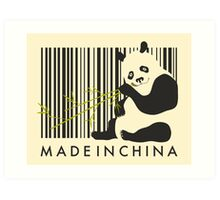 MADE IN CHINA Art Print