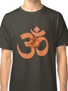 aum symbol orange Classic T-Shirt