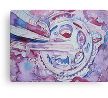 Psychedelically Cranked Canvas Print