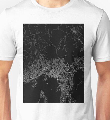 Oslo map norway Unisex T-Shirt