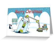 Christmas Lucky dip Greeting Card