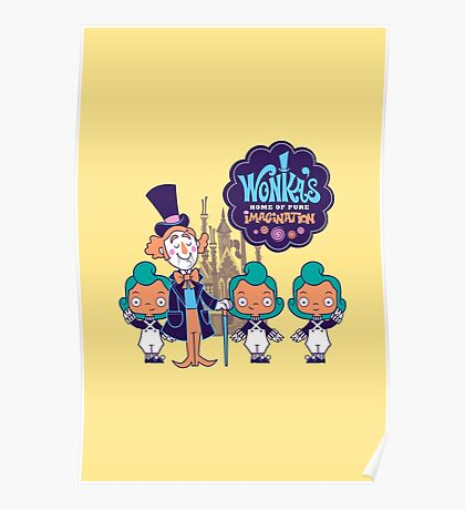 Wonka's Home of Pure Imagination Poster