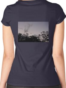 Tree Skyline Women's Fitted Scoop T-Shirt