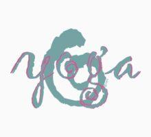 yoga swirl aqua by offpeaktraveler