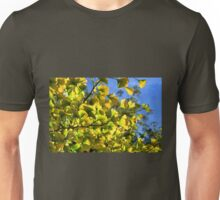Ginkgo Leaves In Autumn Unisex T-Shirt