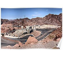 Hoover Dam - Tourist Parking Lot Side Poster