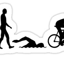 Evolution triathlon Sticker