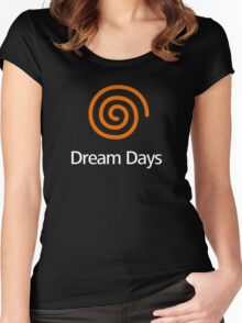 Dreamcast (Old School Shirt) Version.01 Women's Fitted Scoop T-Shirt