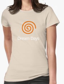 Dreamcast (Old School Shirt) Version.01 Womens Fitted T-Shirt