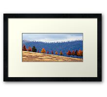 Autumn Parade Framed Print
